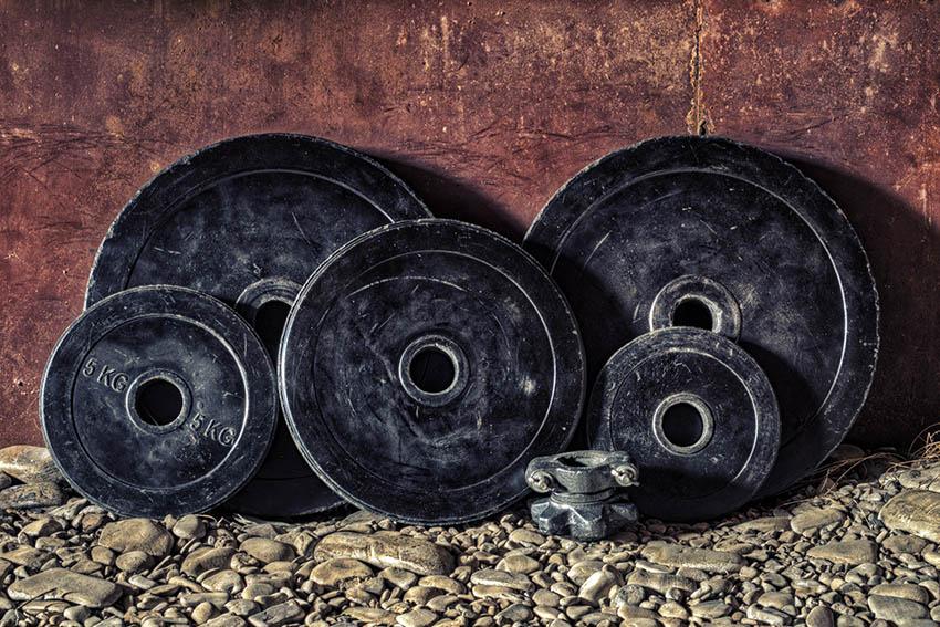 Poids pour le renfocement musculaire et le bodybuilding